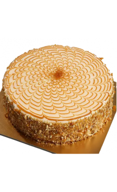 Creamy Butter Scotch Cake
