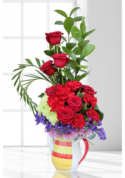 Red Affection Arrangement