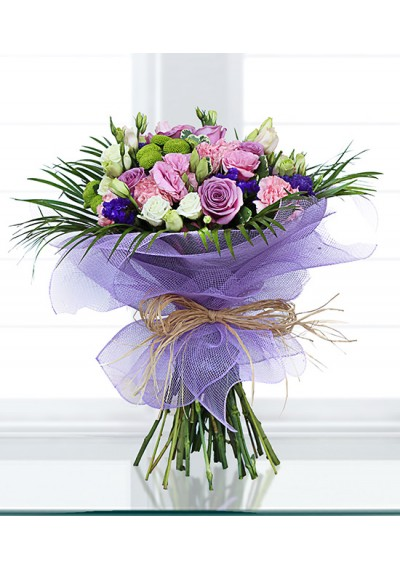 Wild Purple Affection Hand Tied