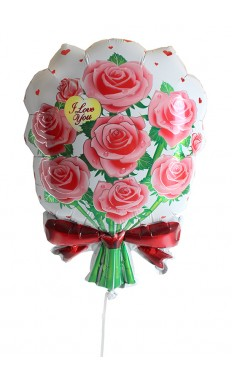 Flowers Love You Balloon