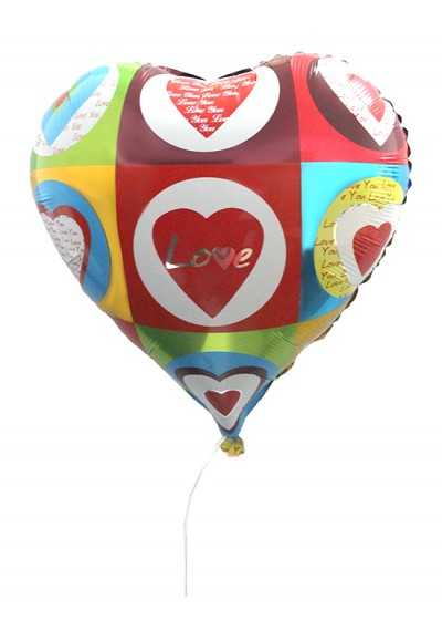 I Love You Balloon II