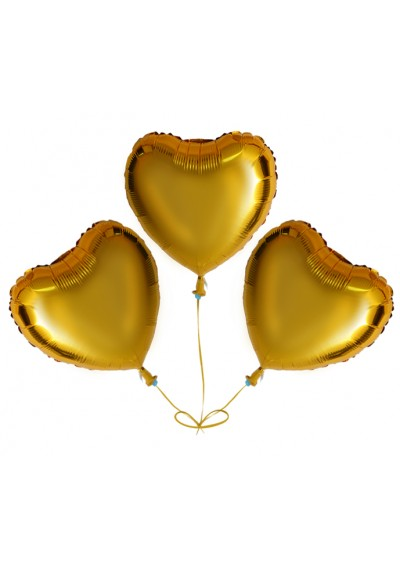 Three Golden Hearts