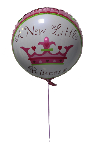 A New Little Princess Balloon