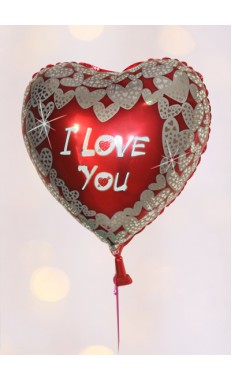 I Love You balloon VII