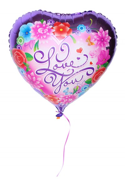 I Love You Colorful Balloon