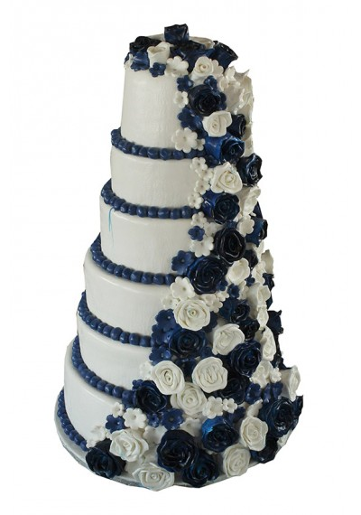 Royal Blue Cake For Royal Taste