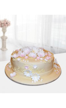 Lovely Flowers Cake