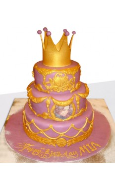 Lovely Princess Cake
