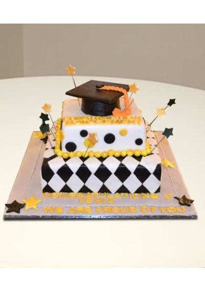 Graduation Superstar Cake