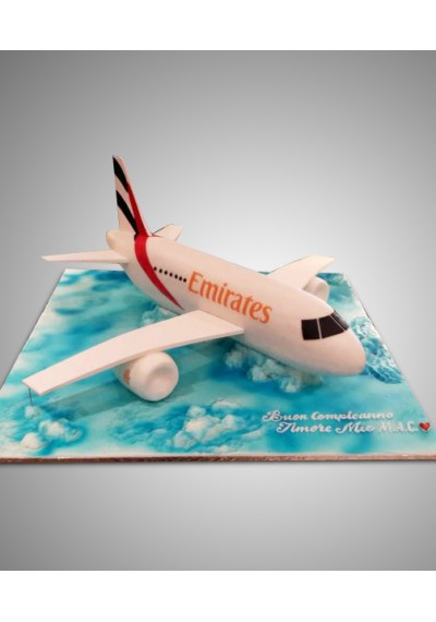 Emirates Airlines Cake