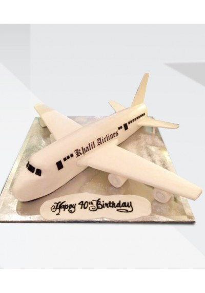 Khalil Airlines Cake