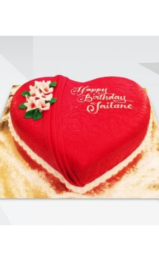 Romantic Heart Cake