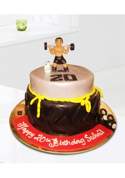 Body Building Cake II