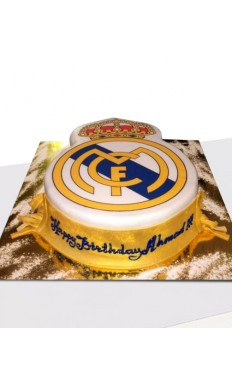 Real Madrid Birthday Cake
