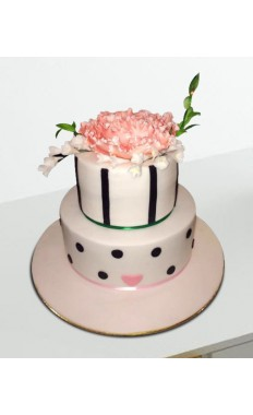 Classic Flower Birthday Cake