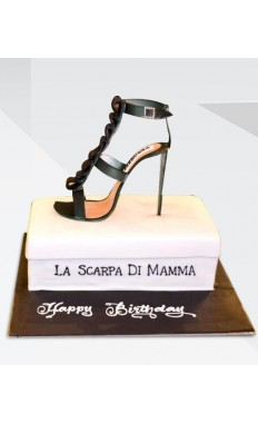 Keep Your Heels High Cake