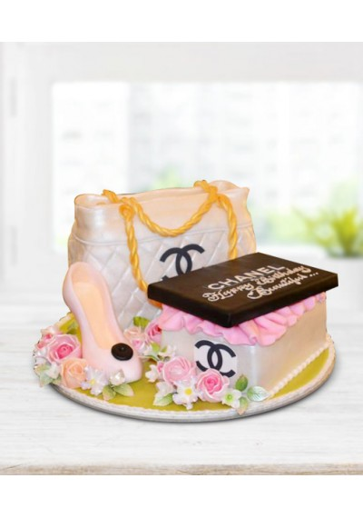 Chanel Fashion Cake