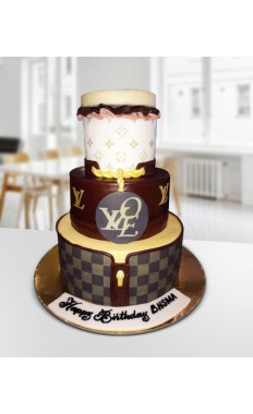 Louis Vuitton Fashion Cake III