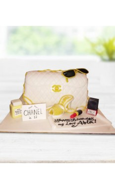 Chanel Designer Boutique Cake