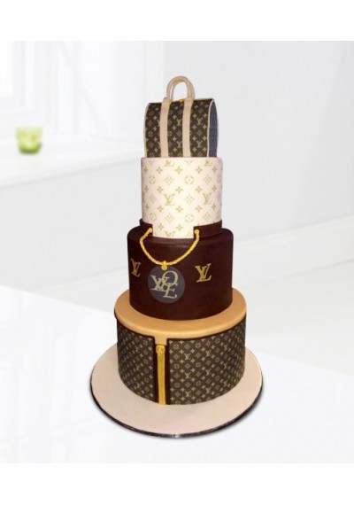 6fe511c2dc2c Buy Louis Vuitton Shopping Bag Cake in Dubai UAE