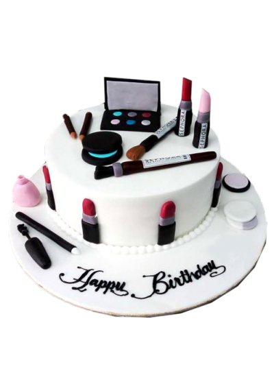 Make Up Kit Women Cake