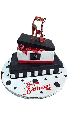 Women Shoe Top Cake