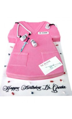 Mr. Doctor Custom Cake
