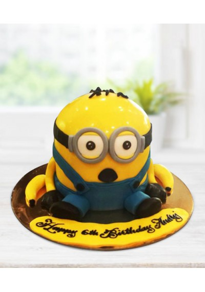 World of Minions Cake