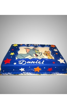 Tom N Jerry Cake