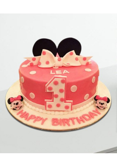 Minnie The Cartoon Cake