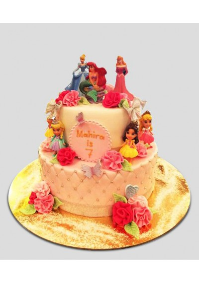 Disney Princess Fairy Tales Cake