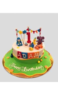 Pocoyo Cartoon Cake