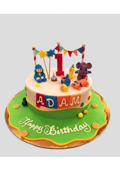 Tremendous Buy Pocoyo Cartoon Cake In Dubai Uae Discounted Pocoyo Cartoon Funny Birthday Cards Online Elaedamsfinfo