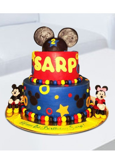 Minnie The Cartoon Cake III