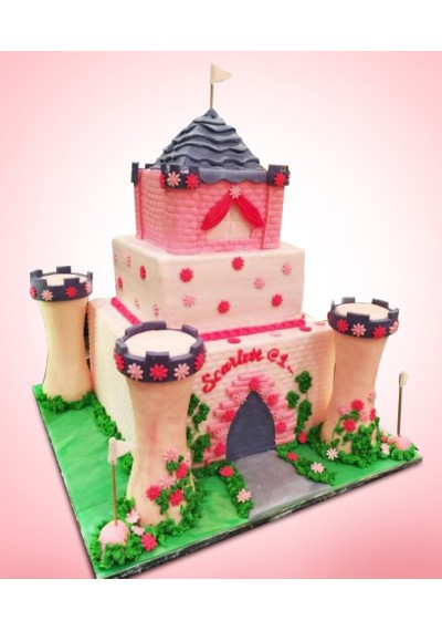Princess Castle Cake II