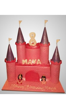 Disney Castle Cake II