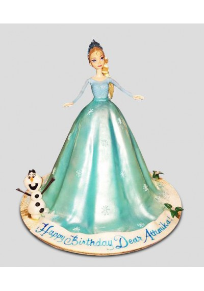 Lovely Doll Cake