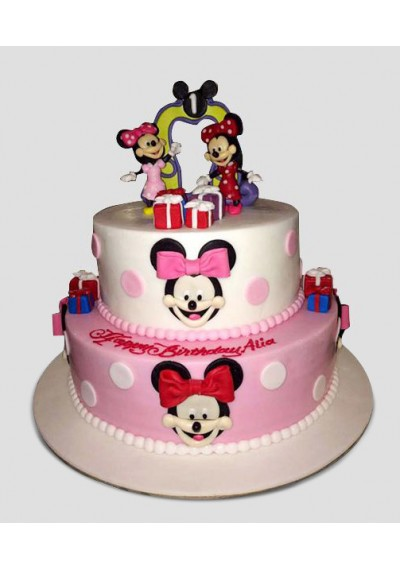 Minnie The Cartoon Cake II
