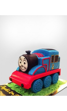 Train Cartoon Cake