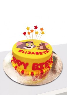 Tom N Jerry Cake II