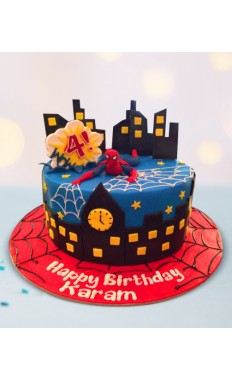 Spiderman Cake III