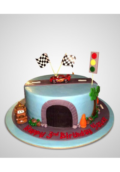 Cartoons Cars Cake