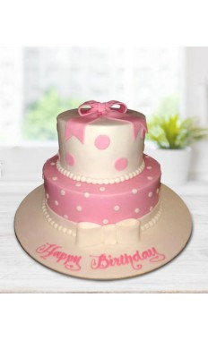 Birthday Ribbon Cake III