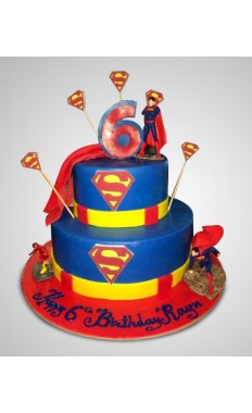 Superman Cake IV