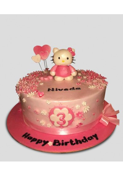Hello Kitty Cake II
