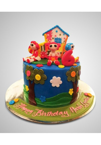 Cartoon Cake for Girls