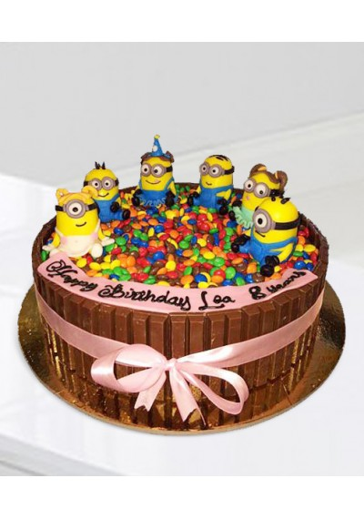 Minions Together Cake II