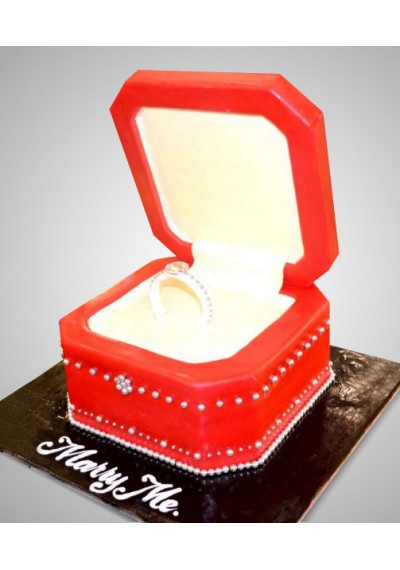 Wedding Ring Cake