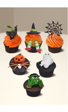 Halloween Mix Cupcakes