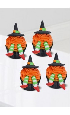 Halloween Witch Cupcake